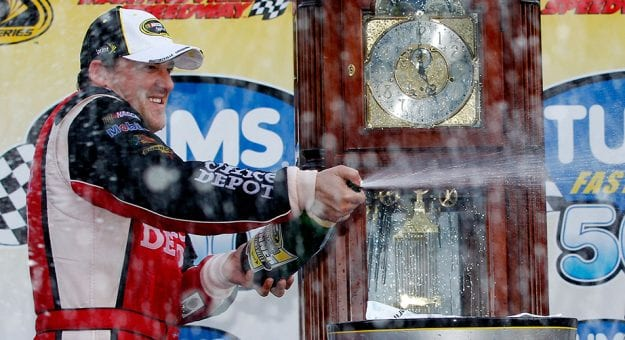 Win at Martinsville, take the title?