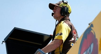 From gridiron glory to a pit-box perch: Inside Ben Beshore's path to becoming Kyle Busch's crew chief