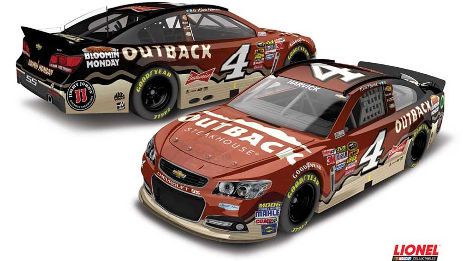 New Paint Schemes For Kevin Harvick S New Number Official Site Of