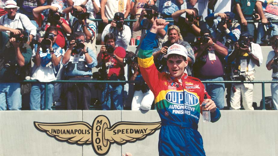 Jeff Gordon Brickyard Indianapolis